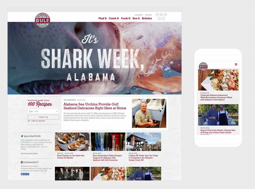 Alabama Gulf Seafood | BIG Communications