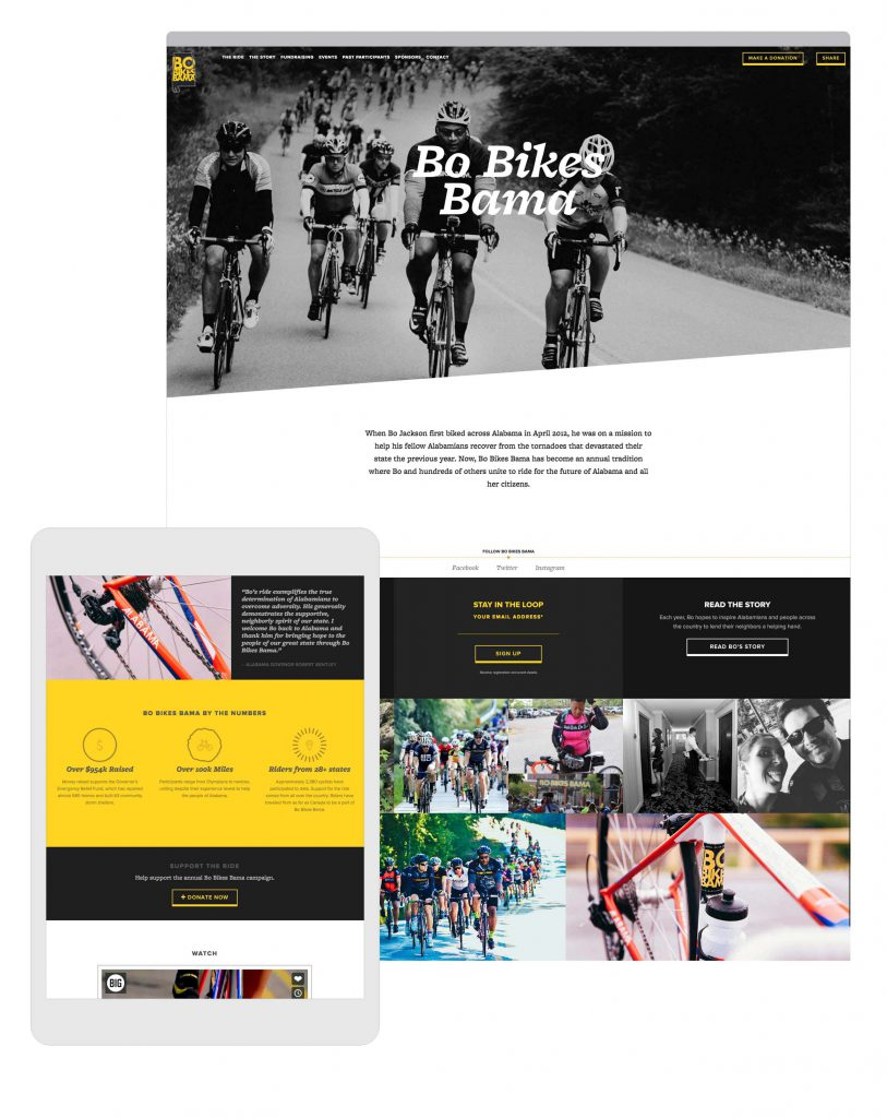 Bo Bikes Bama | BIG Communications