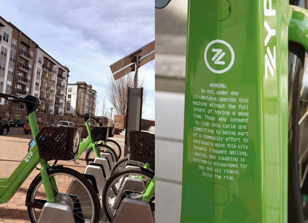 ZYP Bikeshare | BIG Communications