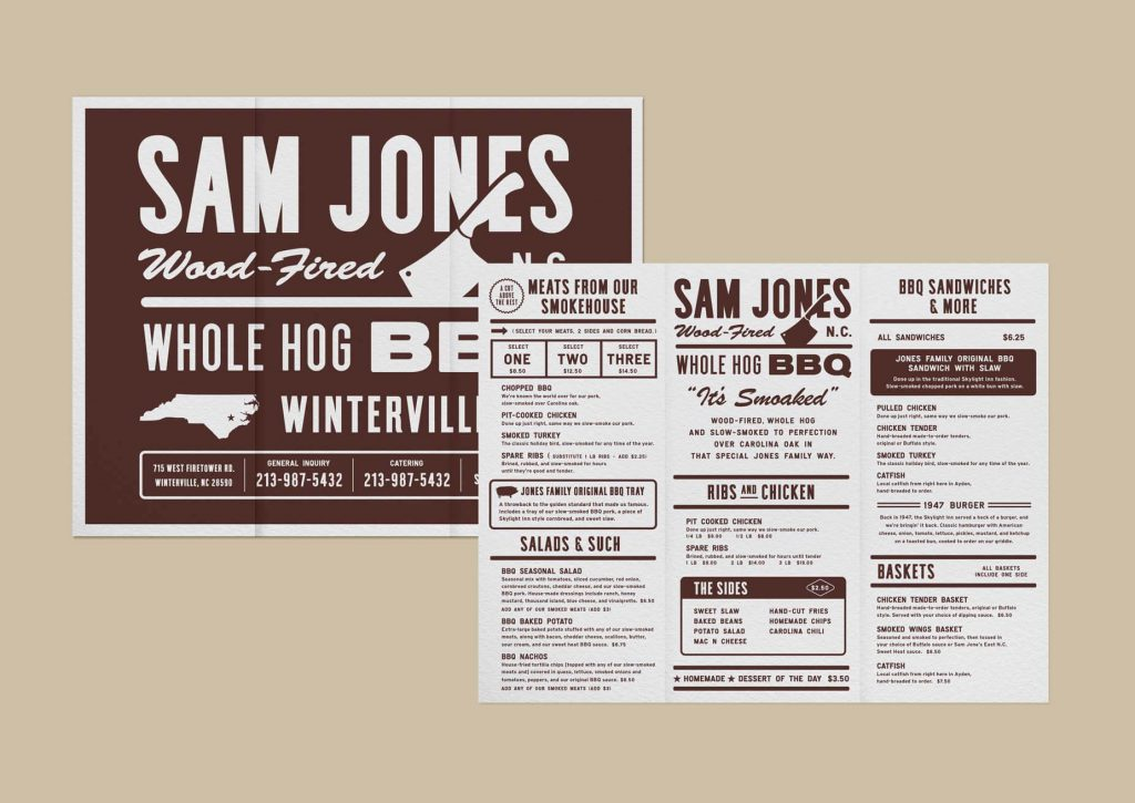 Sam Jones BBQ | Big Communications